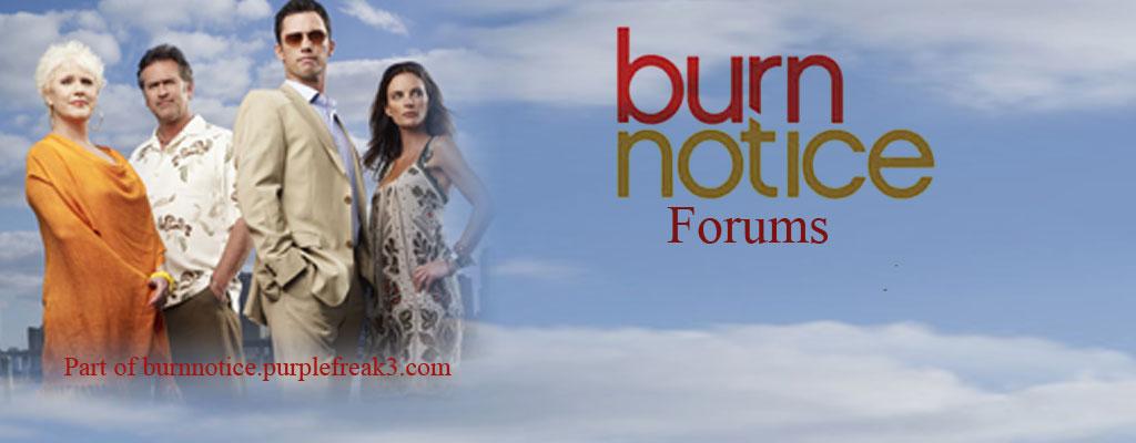 Burn Notice Forums